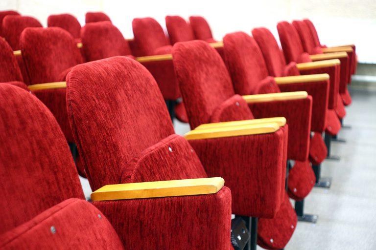 Кинотеатр. Сидения