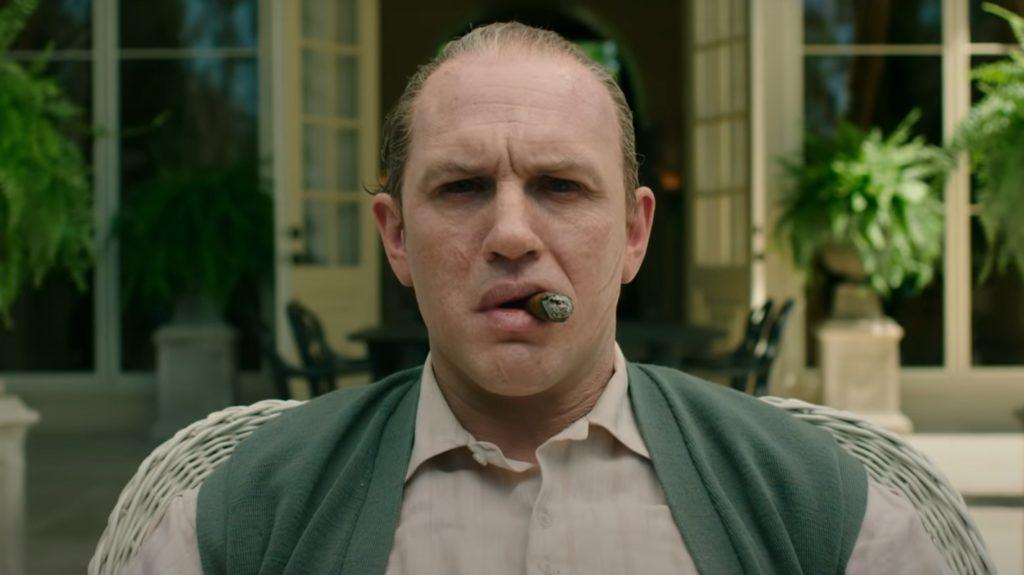 Том Харди в роли Аль Капоне в трейлере фильма «Лицо со шрамом»