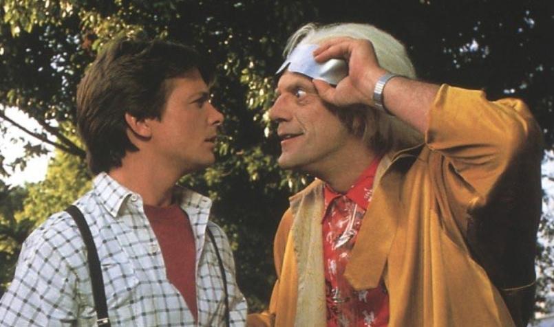 Как познакомились Марти и Док из «Назад в будущее»