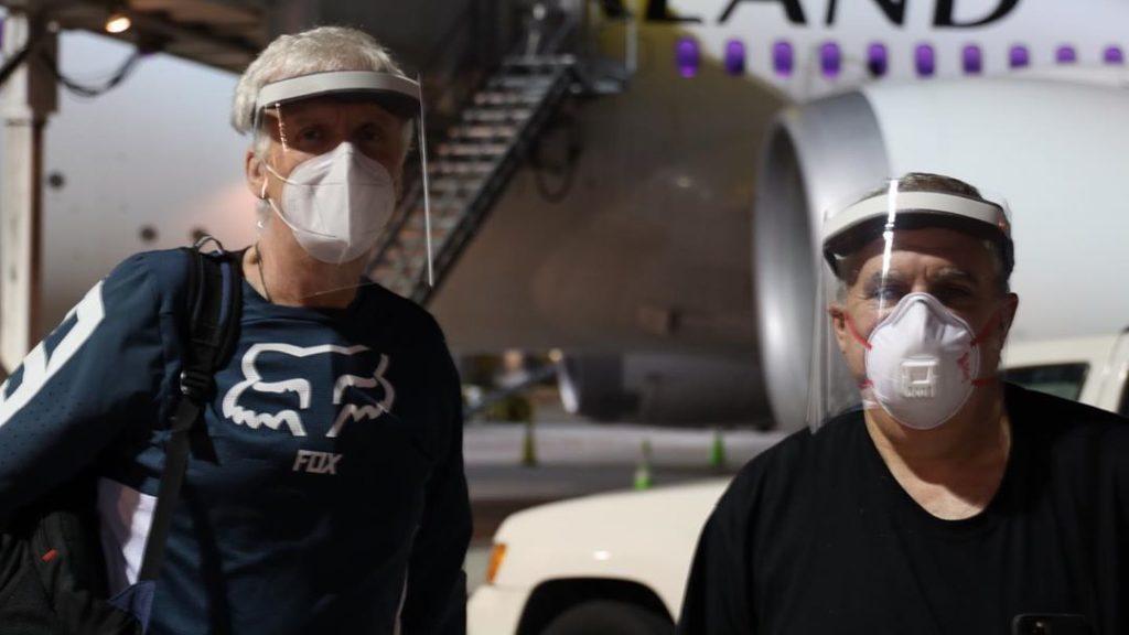 ДжеймсКэмерон и Джон Ландау вернулись в Новую Зеландию для продолжения съемок новых «Аватаров»