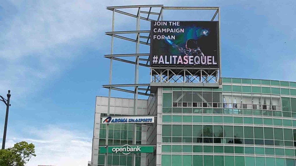 Фанаты фильма «Алита: Боевой ангел» требуют от Disney продолжения на рекламных билбордах