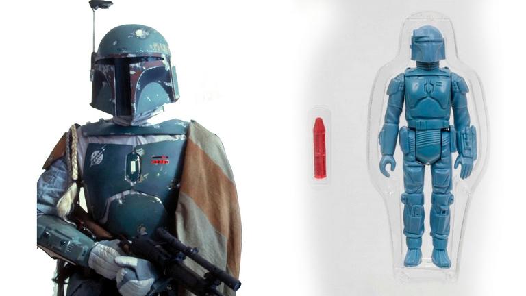 Редкую фигурку Бобы Фетта из «Звездных войн» продают за 15 млн рублей