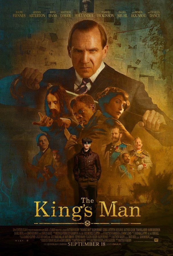 Забойный экшн в дублированном третьем трейлере «King's man: Начало»