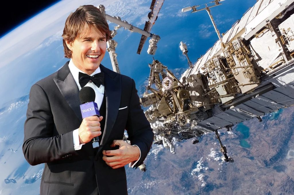 Том Круз летит в космос. Это не шутка. Какие рекорды он поставит?