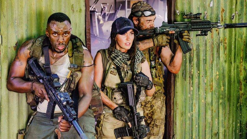 Вышел первый трейлер фильма Rogue с Меган Фокс в роли элитного бойца спецназа