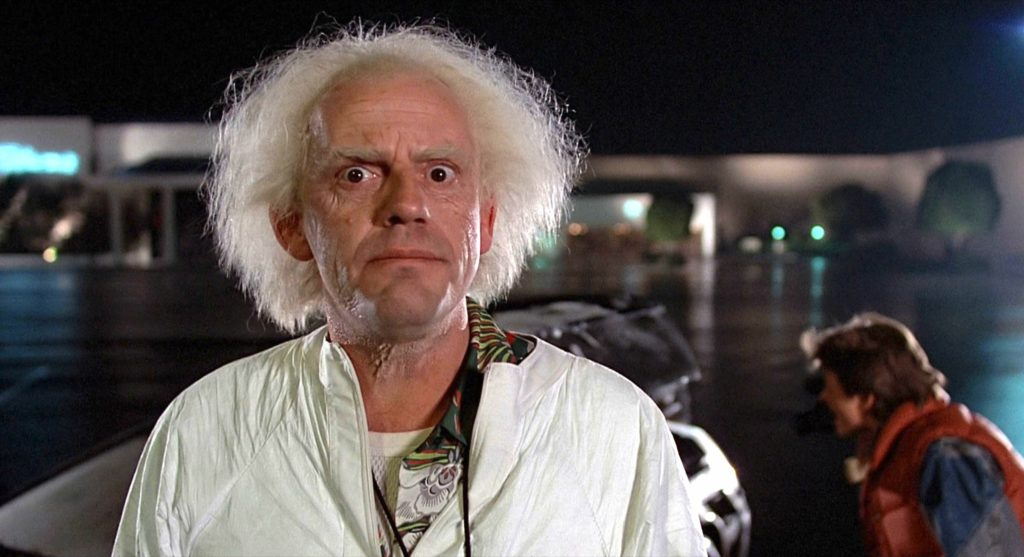 Док Браун из «Назад в будущее» мог совершить преступление ради создания машины времени