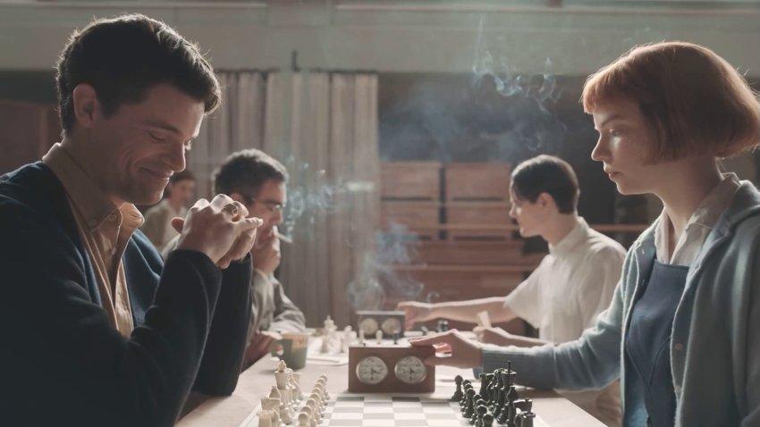 Аня Тейлор-Джой демонстрирует одаренность в шахматах в трейлере сериала «Ферзевый гамбит»