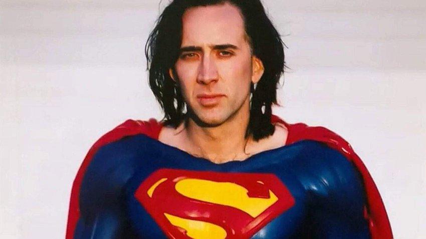 Слух: В сольнике «Флэша» может появиться Николас Кейдж в образе Супермена из неснятого фильма