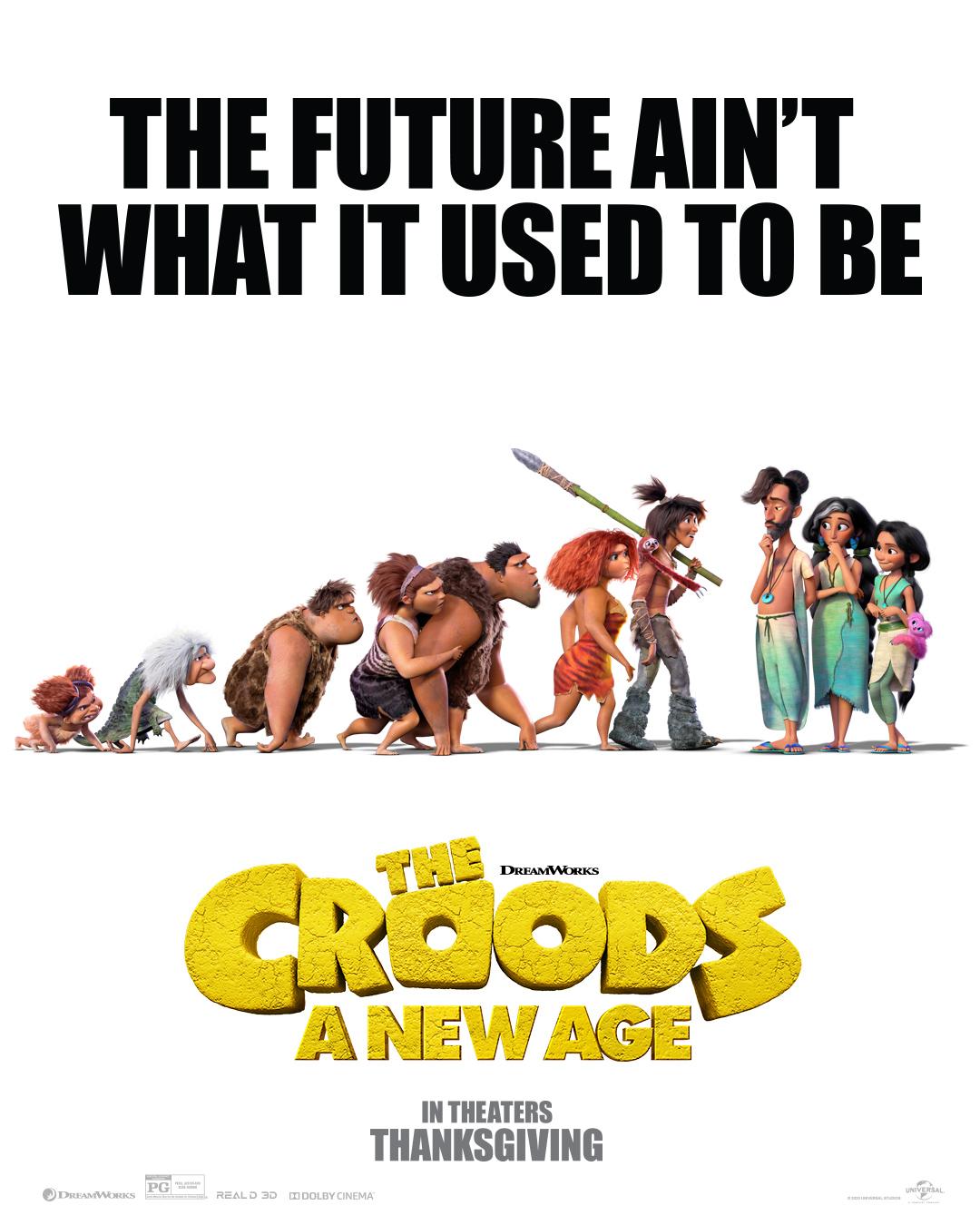 Сиквел «Семейки Крудс» выйдет на месяц раньше запланированного срока, уже в ноябре