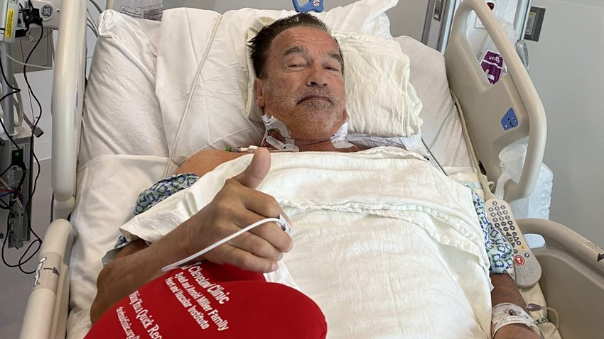 Арнольд Шварценеггер перенес очередную операцию на сердце