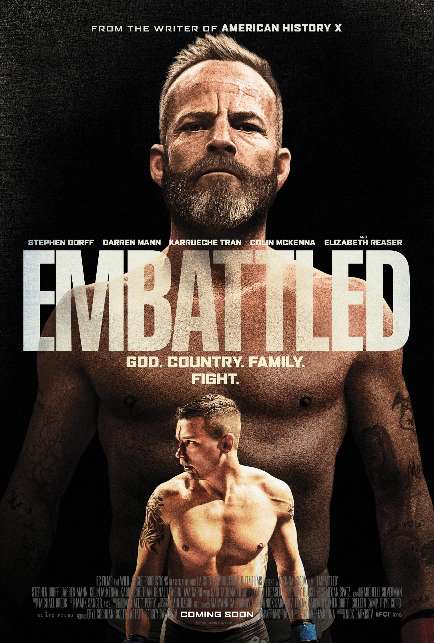 Бои без правил свели отца и сына на ринге в трейлере фильма «Битва»