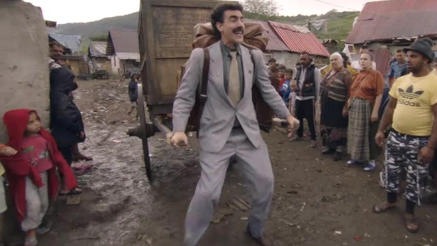 Саша Барон Коэн продолжает творить непотребства в трейлере «Борат 2»