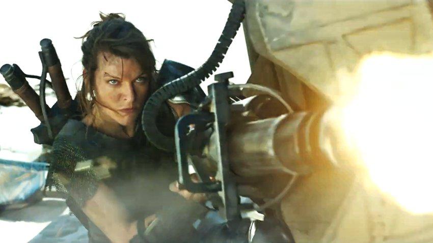 Милла Йововичсражается с чудовищами в русском трейлере «Охотника на монстров»