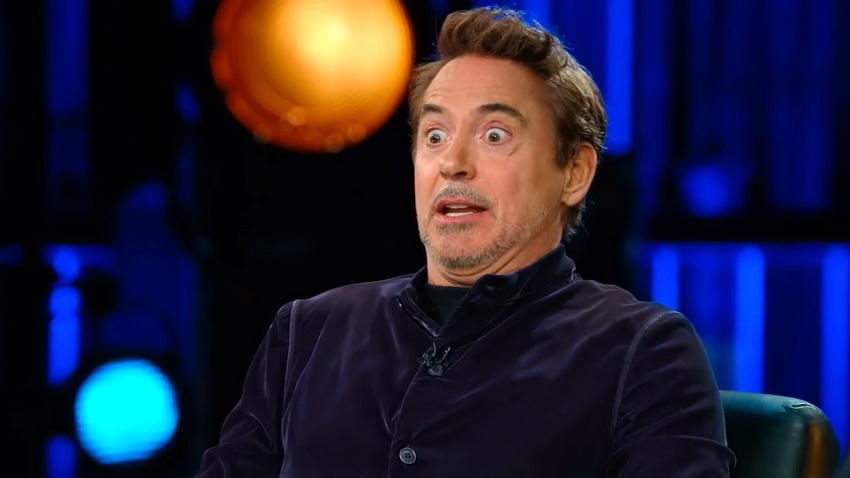 Роберт Дауни рассказал, как шлем Железного человека из первого фильма ослеплял его