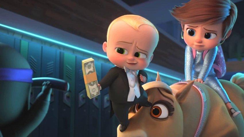 Злобный гений выращивает армию злобных малышей в русском трейлере «Босс-молокосос 2»