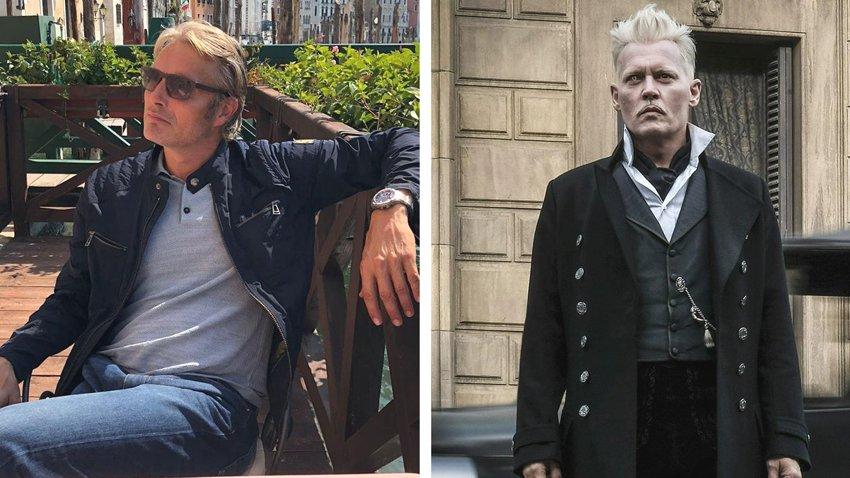 Мадс Миккельсен прокомментировал получение роли Грин-де-Вальда вместо Джонни Деппа