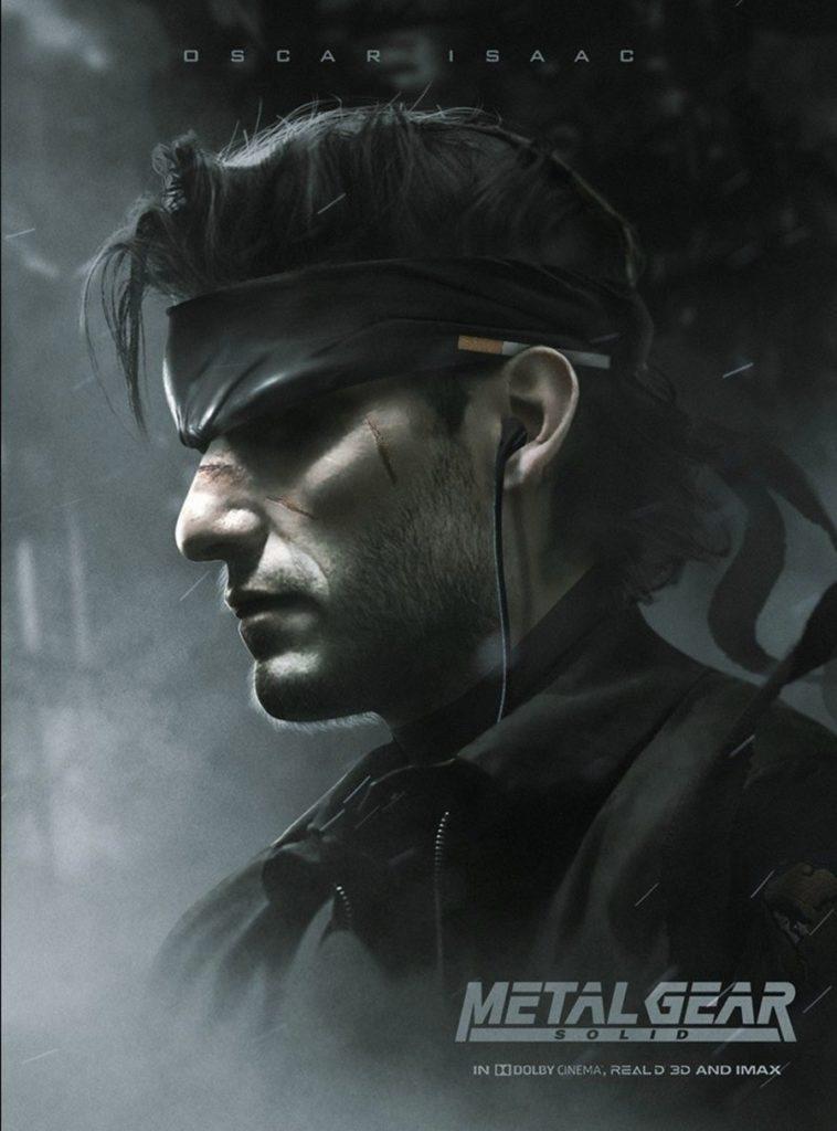 Оскар Айзек сыграет Солида Снейка в экранизации игры Metal Gear Solid