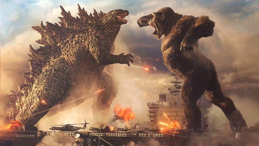 Гигантская рептилия против гигантской обезьяны в русском трейлере «Годзилла против Конга»