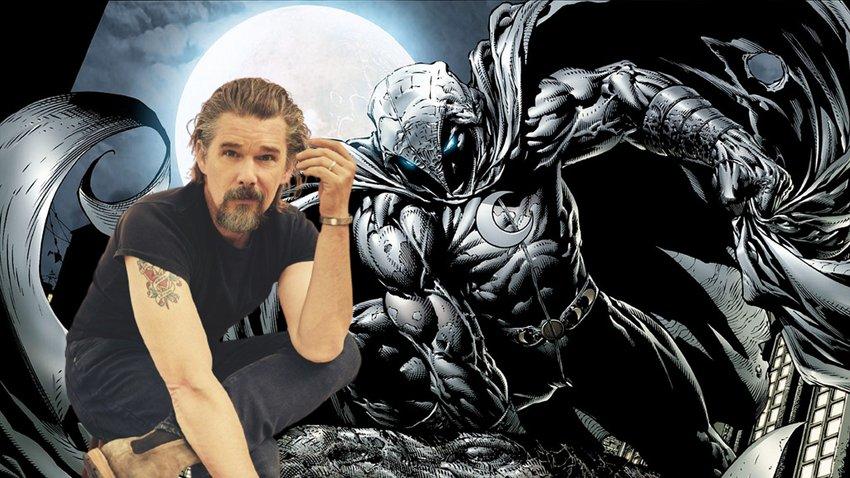 Итан Хоук присоединился к сериалу Marvel «Лунный рыцарь»