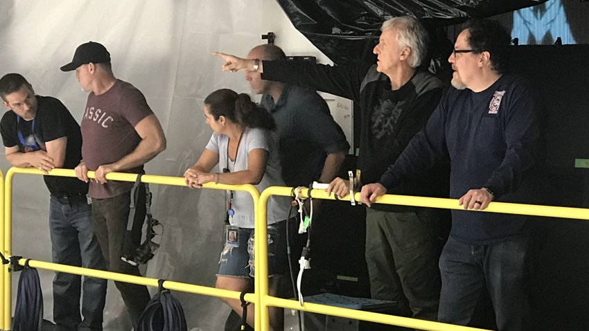Джон Фавро побывал на съемочной площадке сиквелов «Аватара»