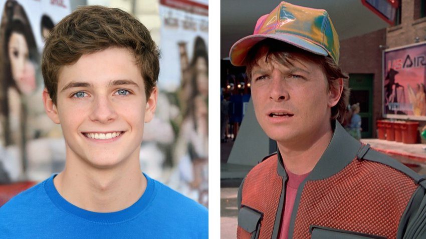 Как выглядели бы возможные дети героев фильмов 1980-1990-х годов?