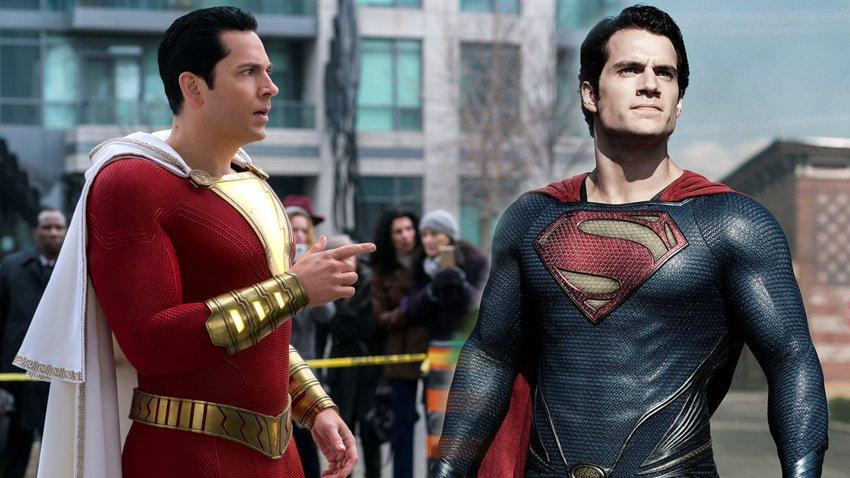 Генри Кавилл не появится в роли Супермена в «Шазам! 2»