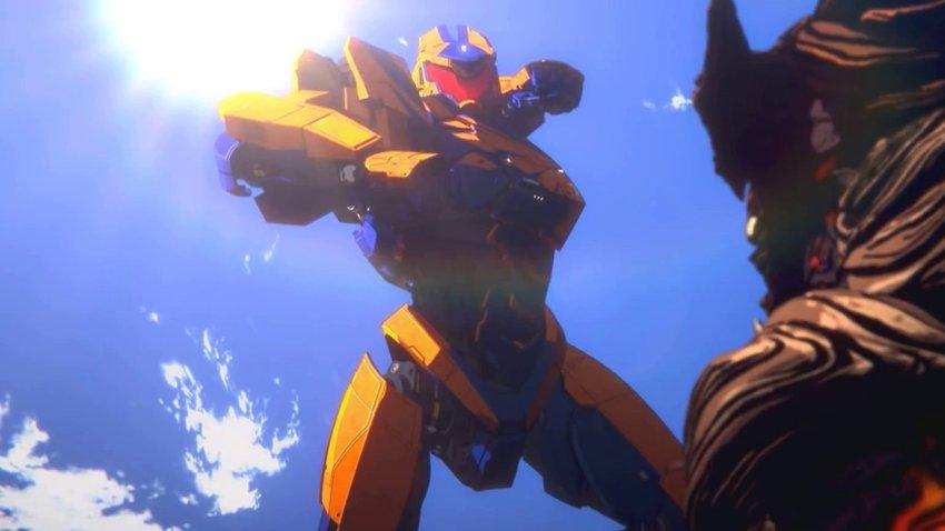 Гигантские роботы вновь сражаются с кайдзю в аниме-сериале «Тихоокеанский рубеж: Чернота»