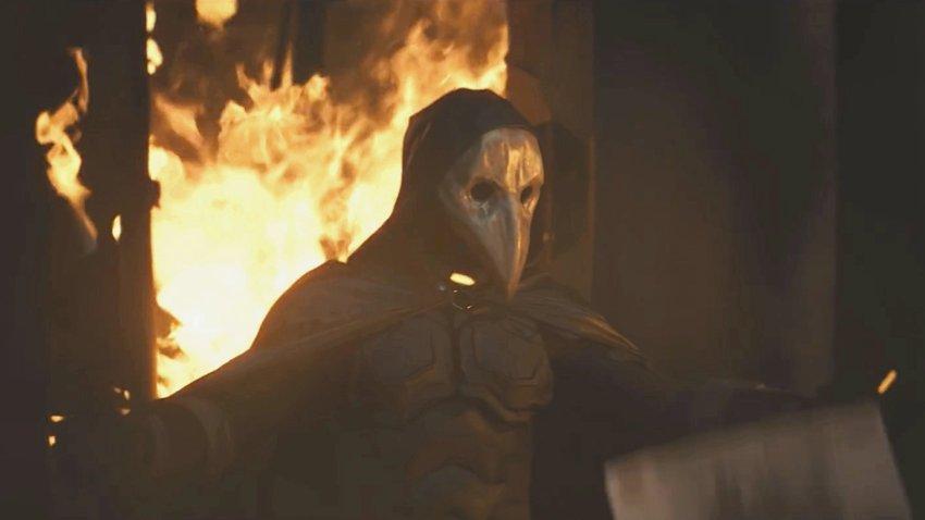 Игорь Гром в камере в финальном трейлере «Майор Гром: Чумной Доктор»