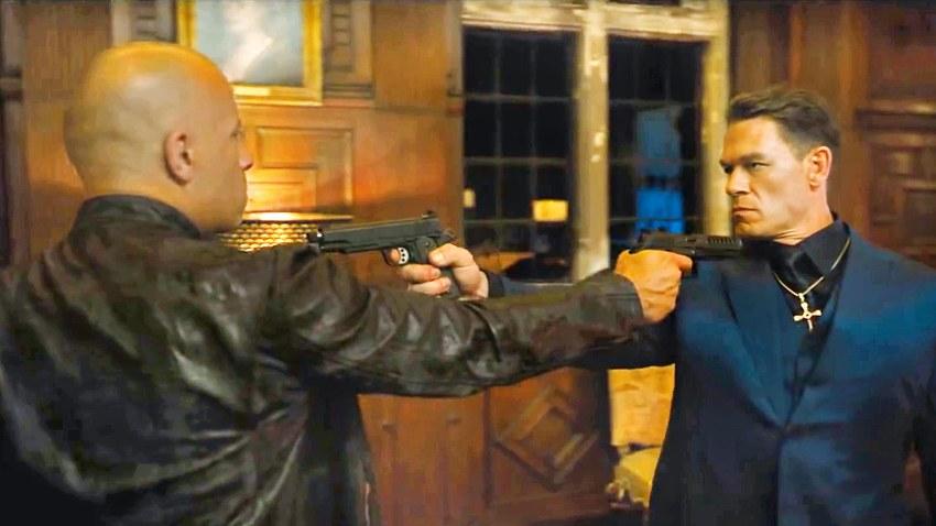 Джон Сина выходит из тени Вина Дизеля в русском трейлере «Форсажа 9»