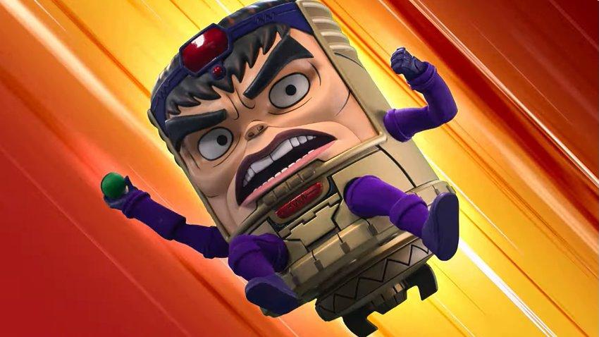 Суперзлодей борется с семейными проблемами в трейлере мультсериала «М.О.Д.О.К» от Marvel