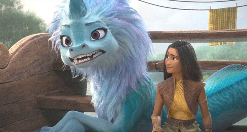 Рождение новой принцессы Disney. Микрорецензия на «Райю и последнего дракона»