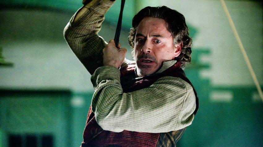 Роберт Дауни мл. намекнул на начало продакшна «Шерлока Холмса 3»