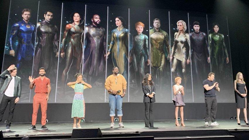 В фильме Marvel «Вечные» будет больше реальных локаций