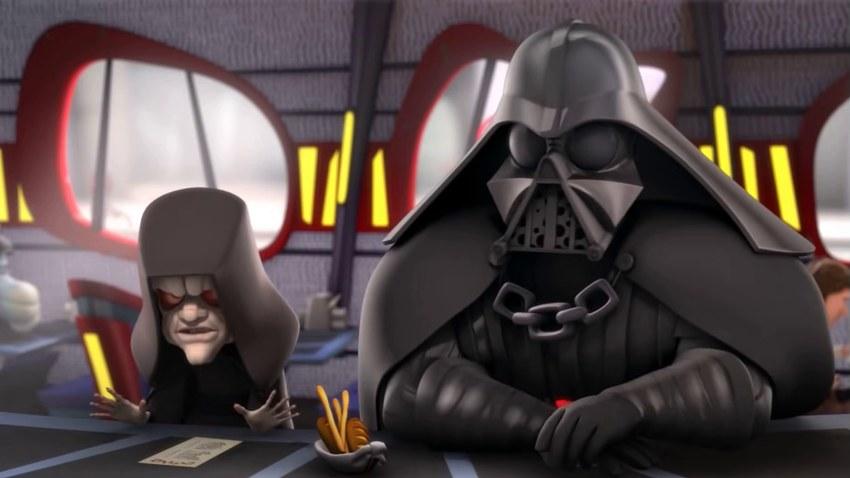 Disney выпустит комедийный мультсериал «Звездные войны: Окольные пути»
