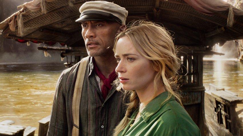 Дуэйн Джонсон устраивает форсаж на старом корабле в русском трейлере «Круиза по джунглям»