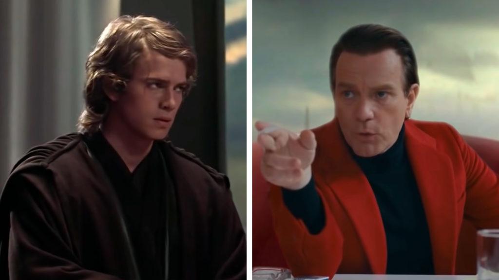 Фанаты объединили во фрагменте из «Звездных войн» две роли Юэна Макгрегора: Оби-Вана и модельера Холстона