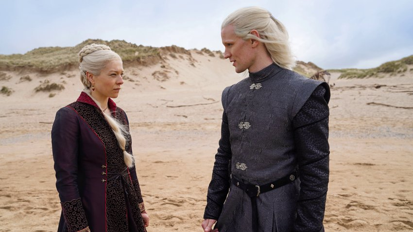 Предки Таргариенов и гордые Хайтауэры на кадрах «Дома дракона» - приквела «Игры престолов»