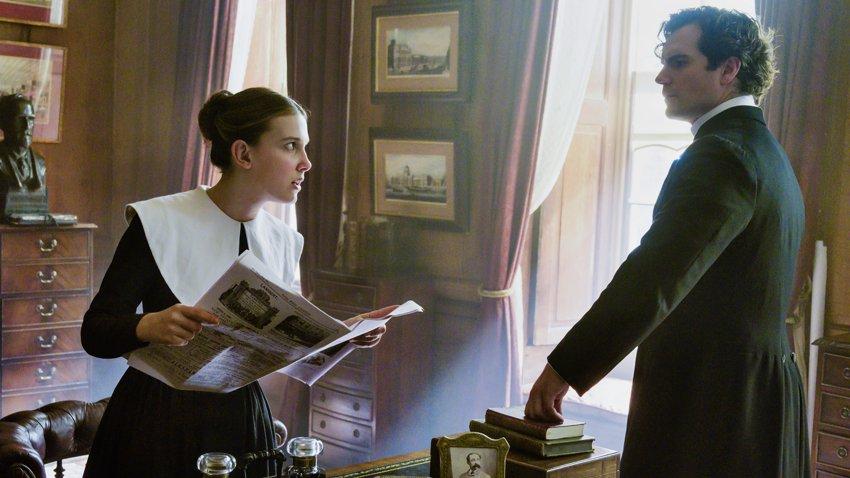 Генри Кавилл и Милли Бобби Браун вернутся к ролям в сиквеле «Энола Холмс»