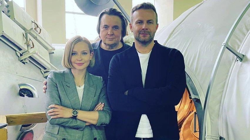 Юлия Пересильд сыграет главную роль в первом в мире фильме, снятом в космосе