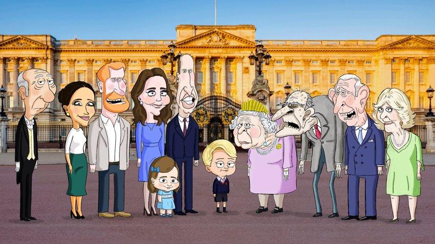 HBO Max отложил сатирический мультсериал про королевскую семью из-за смерти принца Филиппа