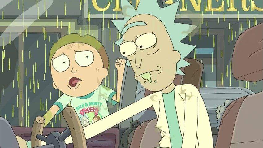 Сражения на роботах в трейлере пятого сезона «Рика и Морти»