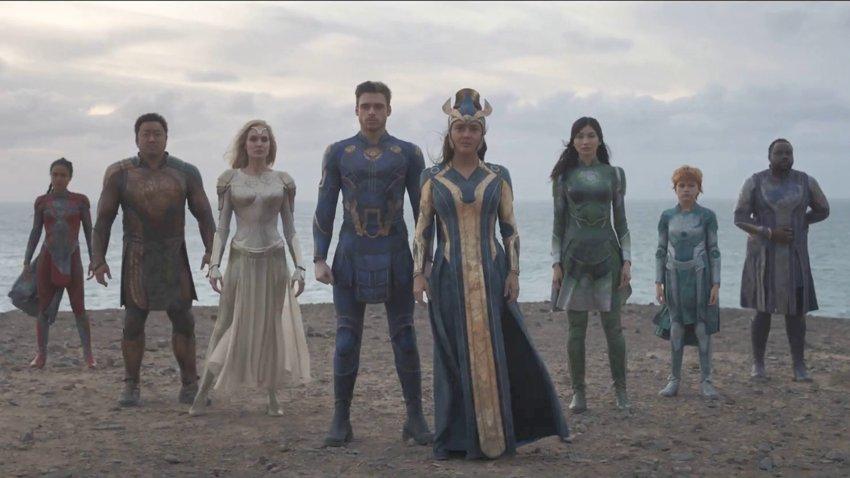Вышел русский тизер «Вечных», нового фильма Marvel