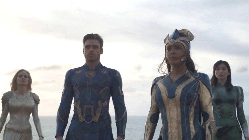 Тизер «Вечных» от Marvel поставил рекорд по просмотрам роликов Disney во время пандемии