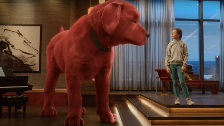 Комедия «Большой красный пес Клиффорд» выйдет в кинотеатрах в ноябре