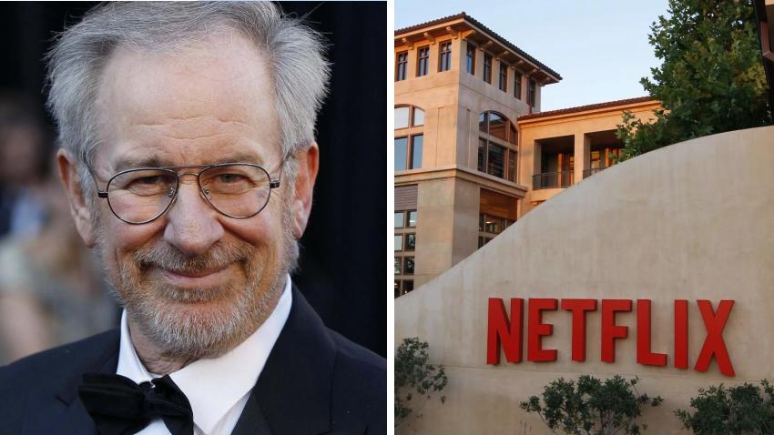 Стивен Спилберг будет снимать фильмы для Netflix