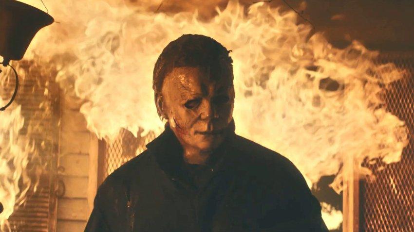 Легендарный маньяк уничтожает всех на своем пути в трейлере «Хэллоуин убивает»