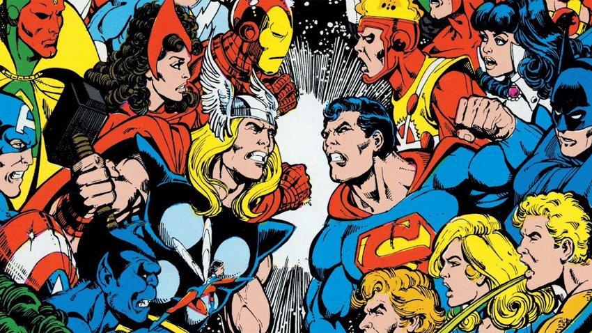 Кроссовер Marvel и DC обсуждался внутри студий