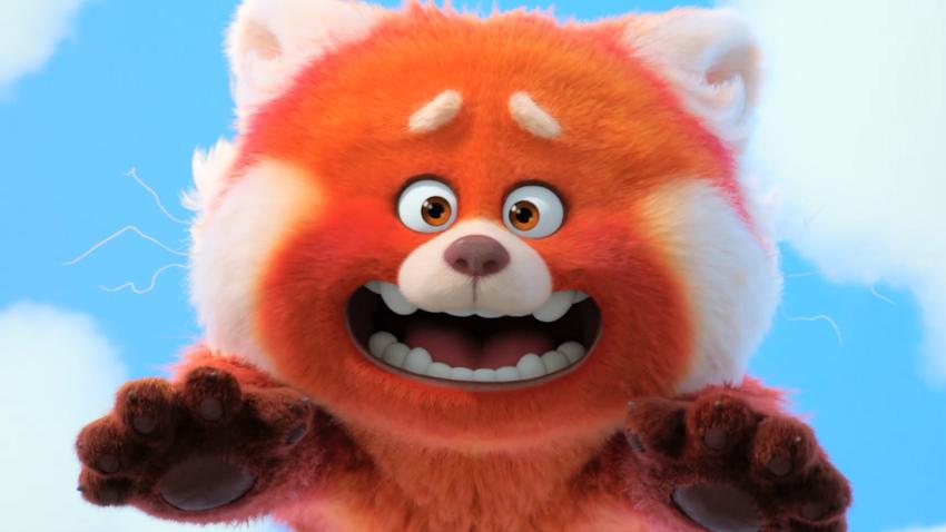 Девочка от стыда превращается в огромную красную панду в трейлере мультфильма «Я краснею»
