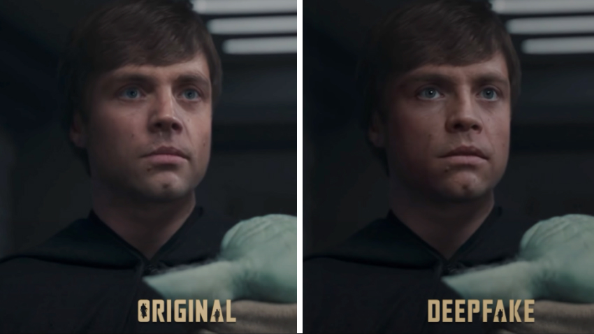 Блогер с помощью дипфейка омолодил Люка Скайуокера и получил работу в Lucasfilm