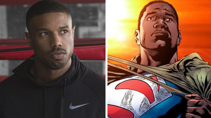 Майкл Б. Джордан готовит свою версию чернокожего Супермена для HBO Max